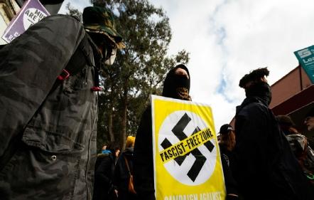 Antifa Fascists Violence
