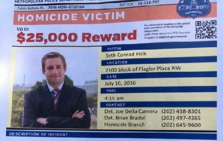 Seth Rich Murder for Hire