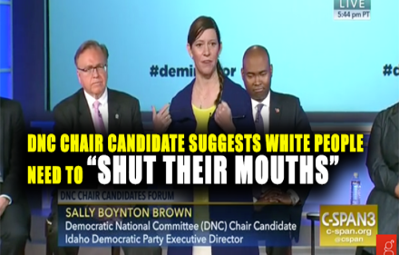 DNC Chair Candidate Pandering