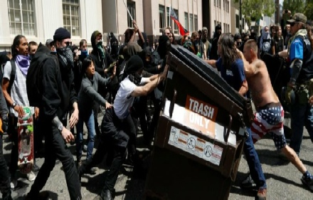 DNC Embrace of Violence Backfires