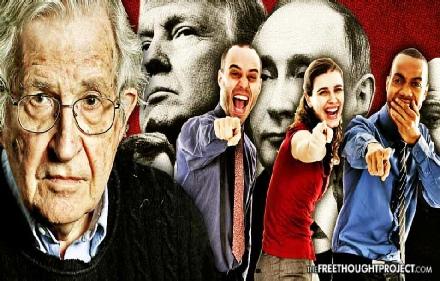 Chomsky Russiagate is Propaganda